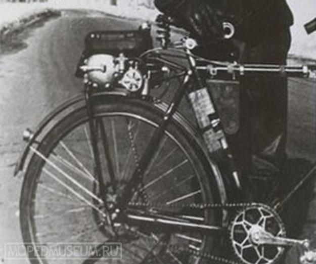 Вспомогательный велодвигатель ЛМ-11 (1955)