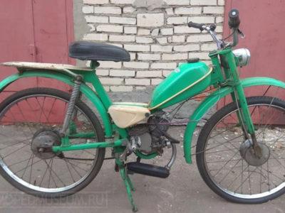 Легкий мопед «Тиса» МП-047 (1969-1970)