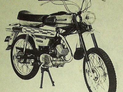 Мокик «Верховина-6-Спорт» ЛМЗ-2.158С (1978-1982)