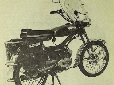 Мокик «Верховина-6-Турист» ЛМЗ-2.158Т (1978-1979)