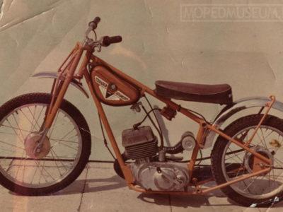 Мотоцикл спортивный «Спидвей-125Ю» ЛМЗ-3.752 (1979-1982)