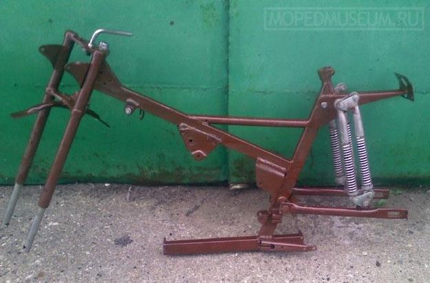 Мокик Верховина с коляской