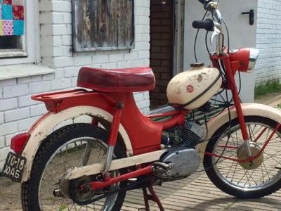 Мопед «Рига-12» (1972-1977)
