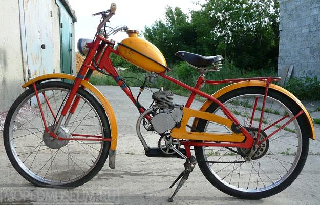Легкий мопед Рига-7 (1968-1976)