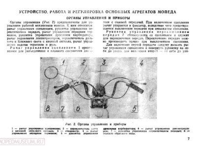 Мопед «Рига-16». Руководство по эксплуатации