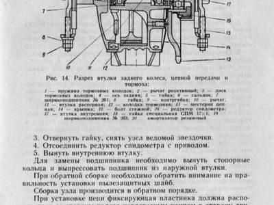 Мопеды «Рига-1» и «Рига-3». Руководство по ремонту