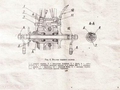 Легкий мопед «Рига-11». Руководство по эксплуатации