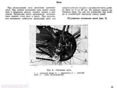 Легкий мопед «Рига-7». Руководство по эксплуатации