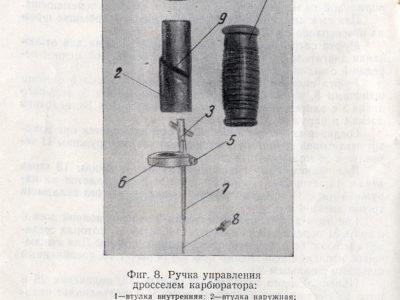 Двигатель Д-5 для мотовелосипедов. Краткое техническое описание