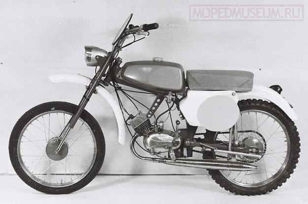 Кроссовый микромотоцикл Рига-6М (1968-1970)