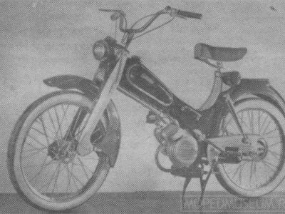 Мопед «Спридитис» (Spriditis) (1958)
