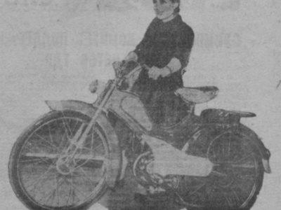 Легкий мопед «Львовянка» МВ-042 (декабрь 1962-1965)