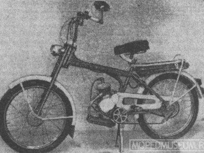 Легкий мопед «Рига-11» РМЗ-1.411 (1975-1983)