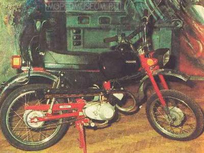 Мокик «Карпаты-2-Спорт» ЛМЗ-2.161С (1986-1993)