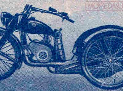 Мотоколяска К1В (1947-1951)