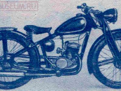 Мотоцикл К1Д (1949)