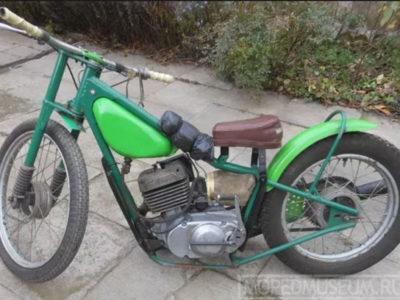 Мотоцикл спортивный «Спидвей-125Ю» ЛМЗ-3.252 (1982-1990)