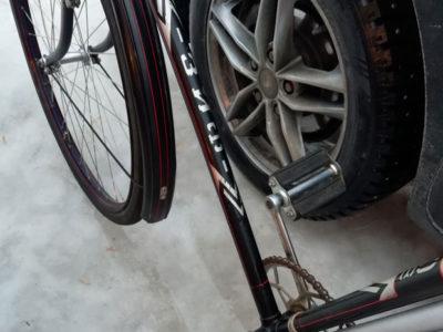 Велосипед 10В с двигателем Д4 (1958)