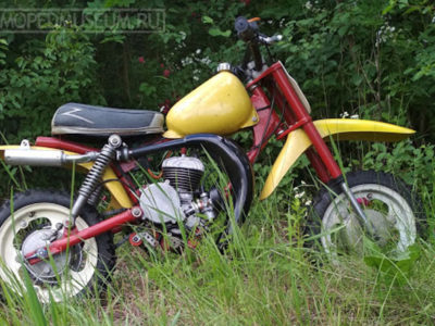 Кроссовый микромотоцикл