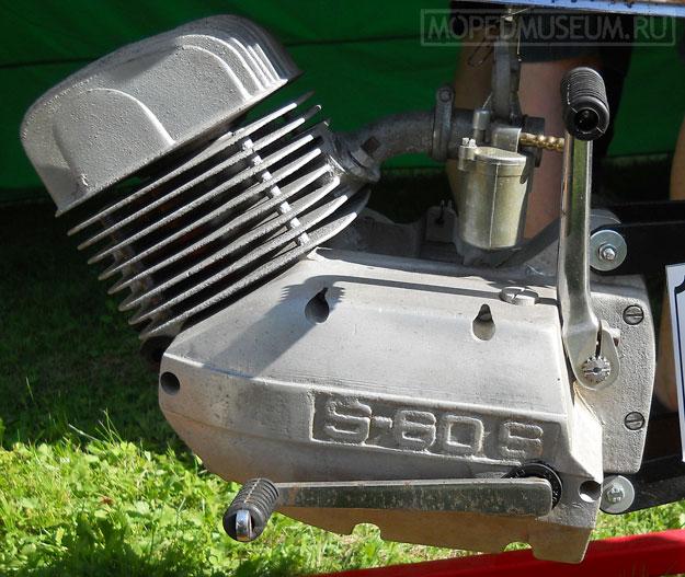 Двигатель Š-60-S